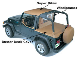 1997 1998 1999 2000 2001 97   01 97 01 Jeep Wrangler TJ Replacement Top  Replace A Top New OEM Softop Softtop Soft Top Bestop SPICE Spice